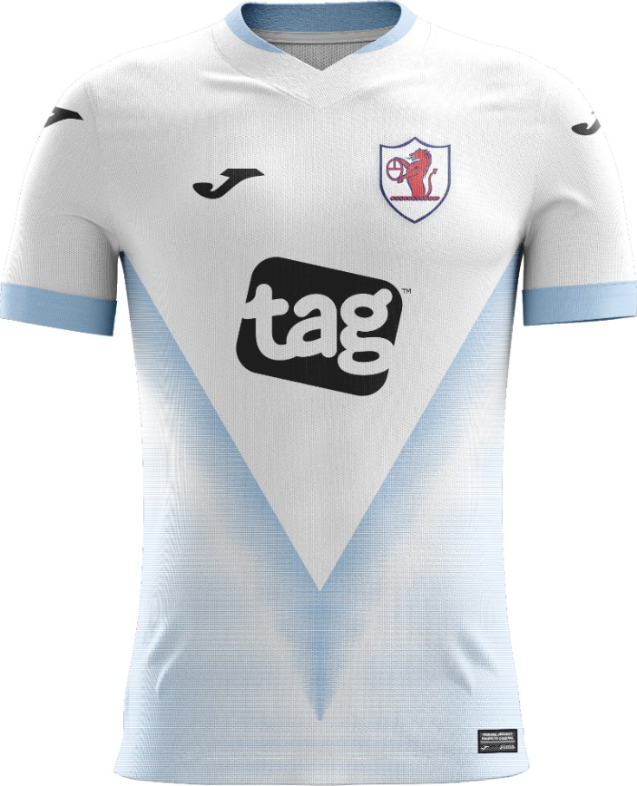 Tag Games Raith Rovers Away Shirt 2020 2021