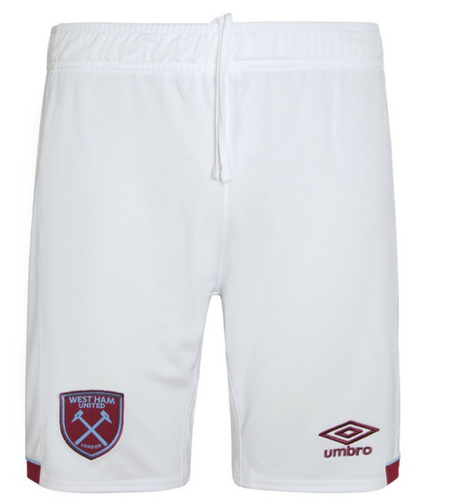 West Ham Home Shorts 20-21
