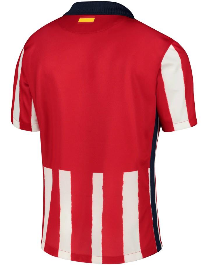 Back of Atletico Madrid New Shirt 2020-21
