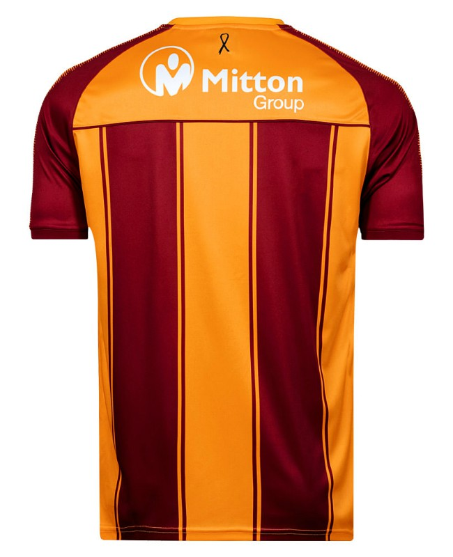 Back of Bradford City Shirt 20-21