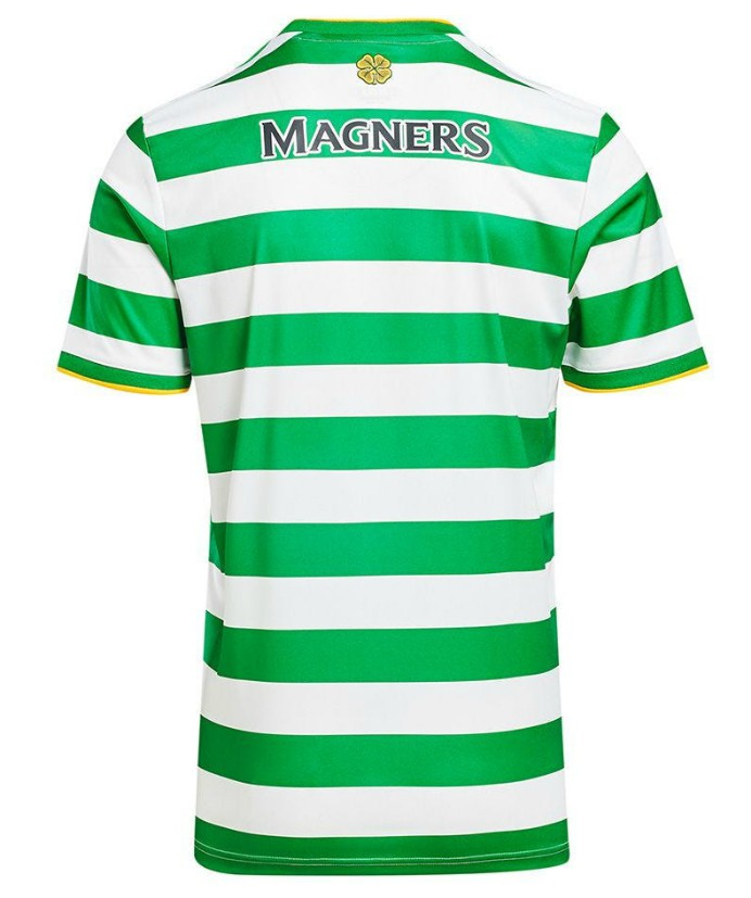 Back of Celtic Home Jersey 2020 2021