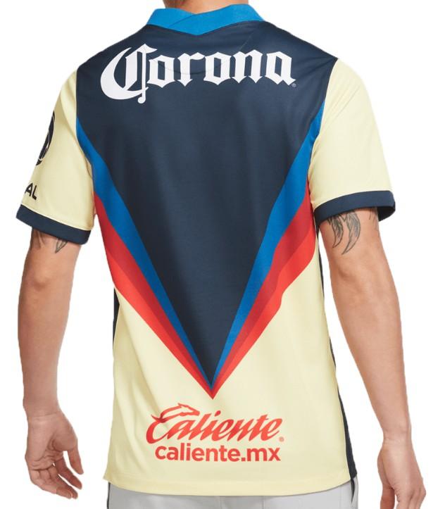 Back of Club America Shirt