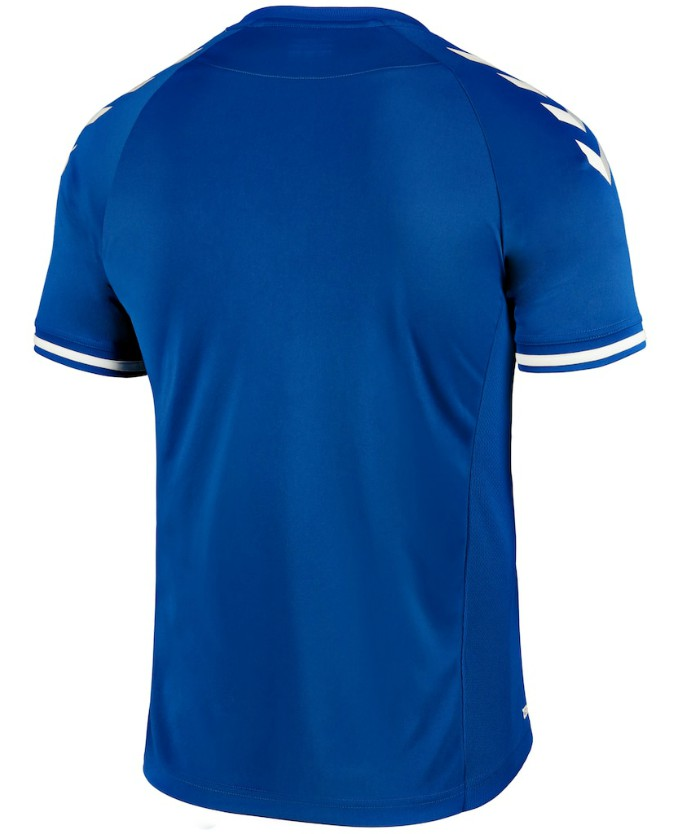 Back of Everton Home Shirt 2020 21