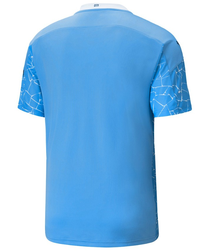 Back of Man City Home Shirt 2020-21