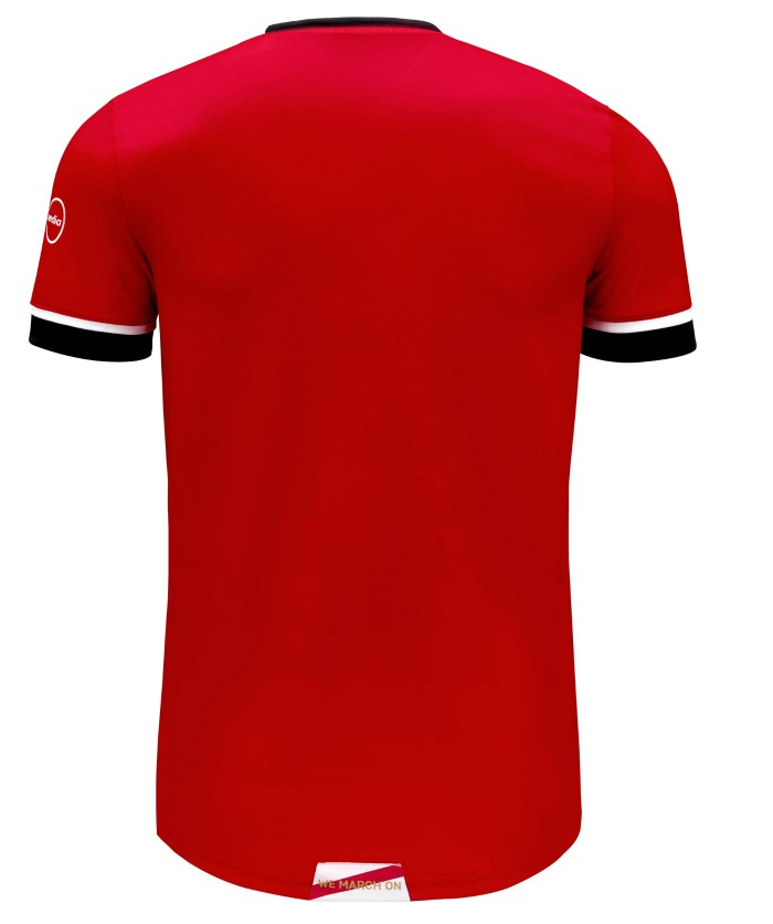 Back of Southampton Home Shirt 20-21