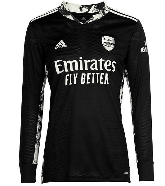 Black Arsenal Goalkeeper Shirt 2020-21