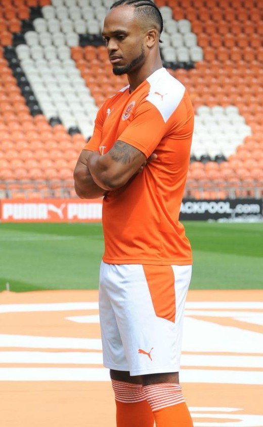 Blackpool FC New Jersey 2020 2021