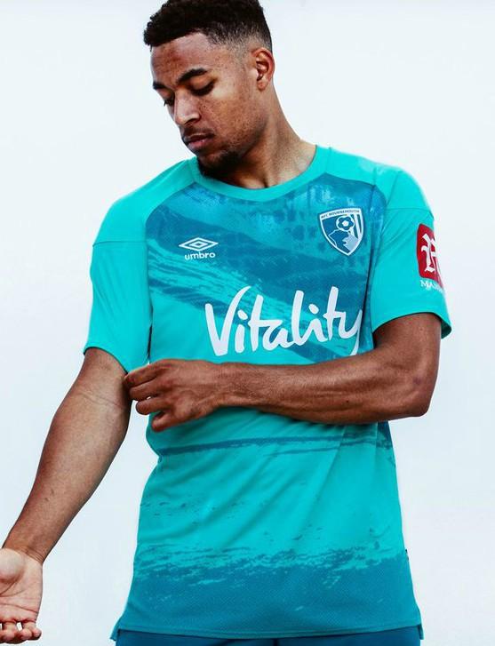 Blue Bournemouth Away Shirt 20-21