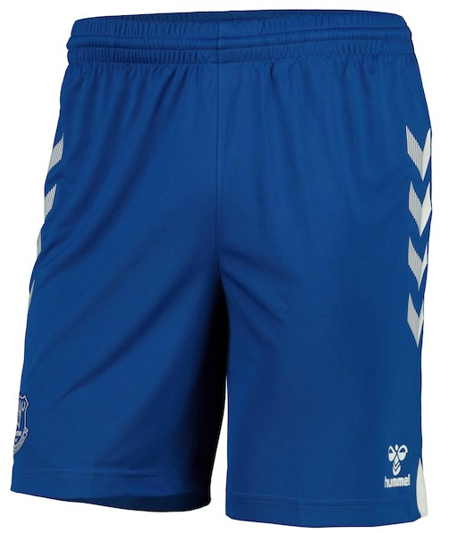 Blue Everton Hummel Shorts 2020-21