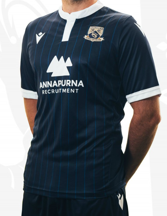 Blue Morecambe Away Kit 20-21