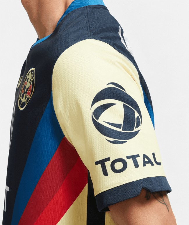 Closeup of Club America New Kit 20-21