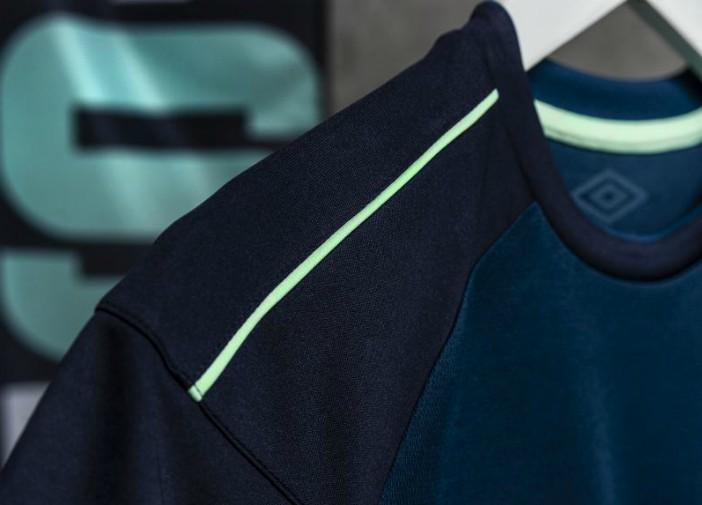Closeup of DCFC Away Shirt 20-21