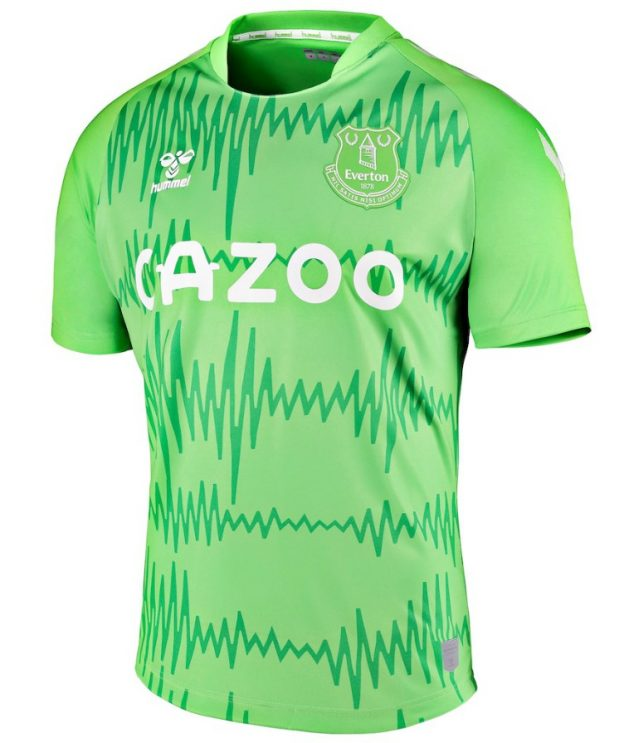Everton Goalkeeper Kit 20-21 Hummel Green