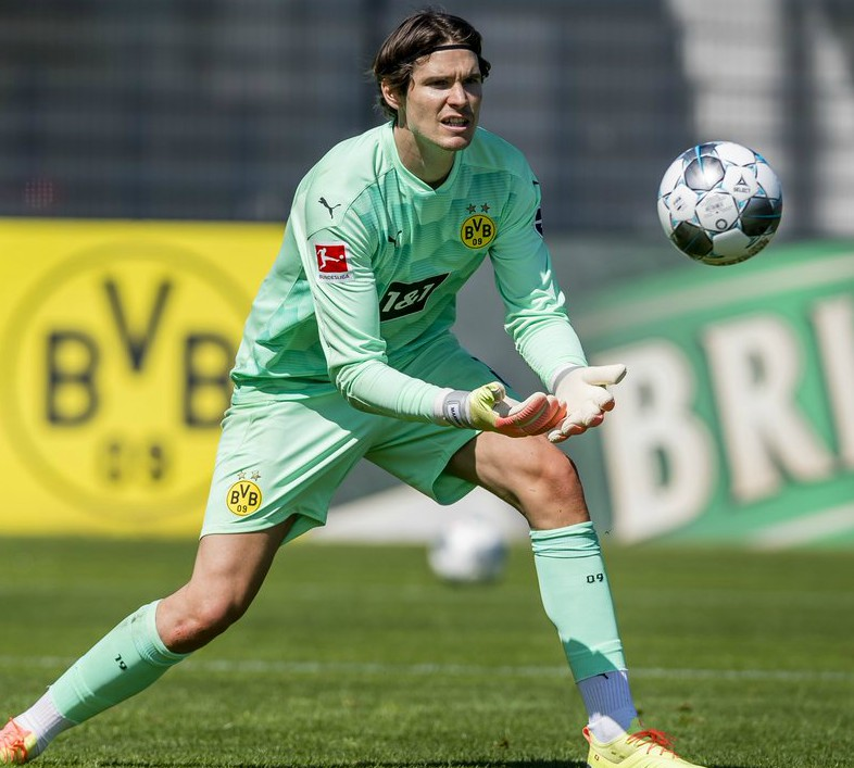 Green BVB Keeper Jersey 2020 2021