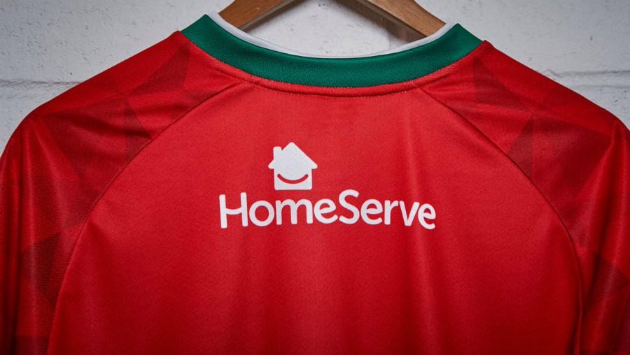 Homeserve Walsall FC Shirt Sponsor Back of