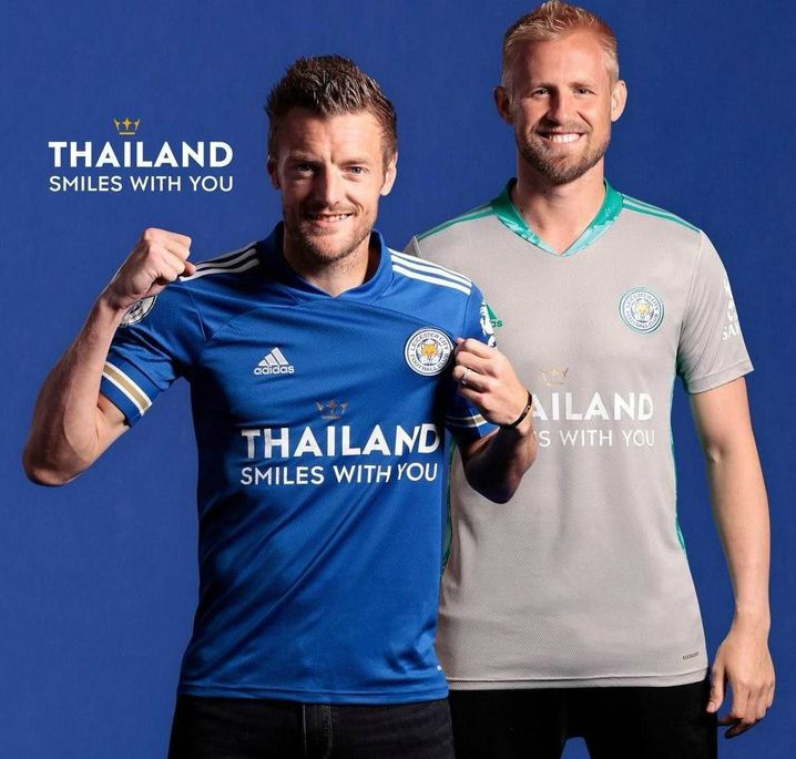 LCFC New Kit 2020-21 Thailand Smiles With You
