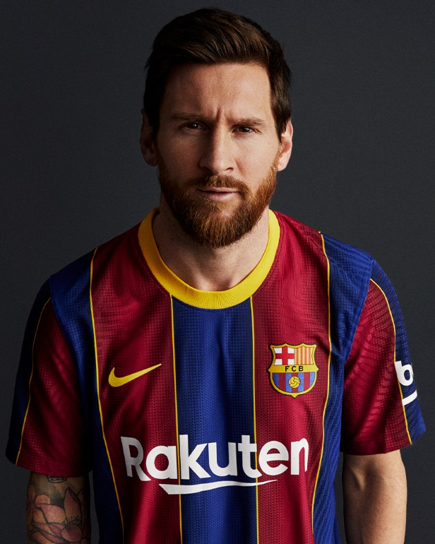 Lionel Messi New Barca Kit 20-21