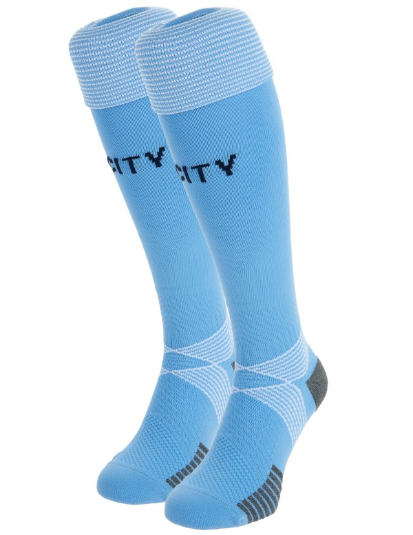 Man City Home Socks 20-21