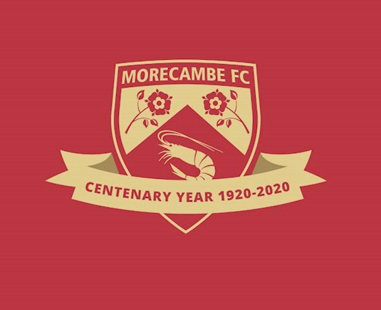 Morecambe FC Centenary Year Crest 2020-21