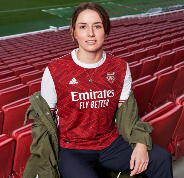 New Arsenal Home Jersey 2020 2021 Gunners To Debut Adidas Kit Vs Watford Football Kit News