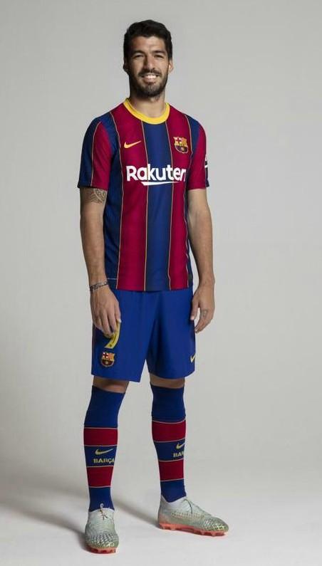 New Barca Strip 2020 2021 Suarez