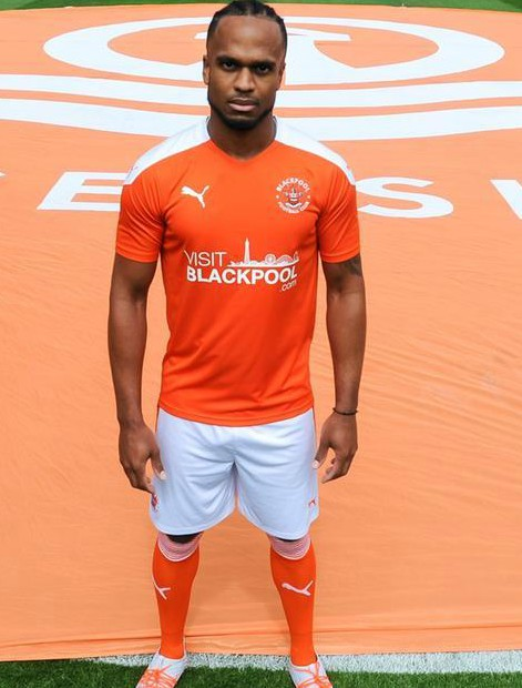 New Blackpool FC Puma Home Shirt 20-21