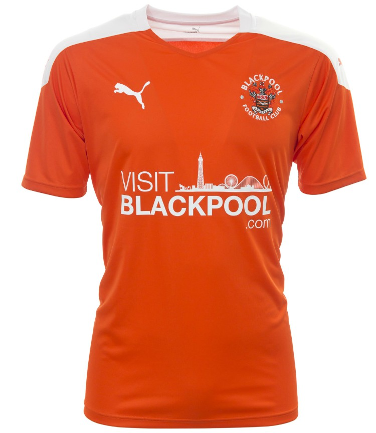 New Blackpool FC Puma Kit 2020-21