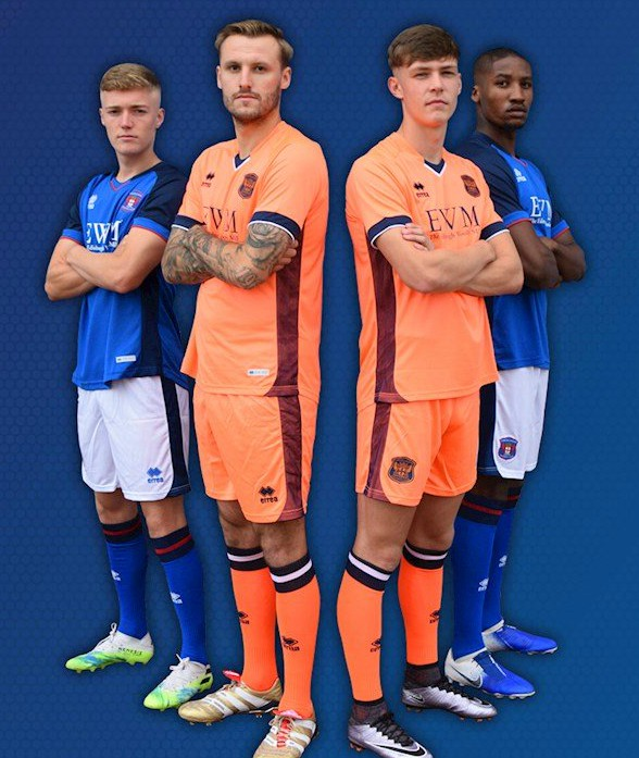 New Carlisle United Errea Kit 2020-21