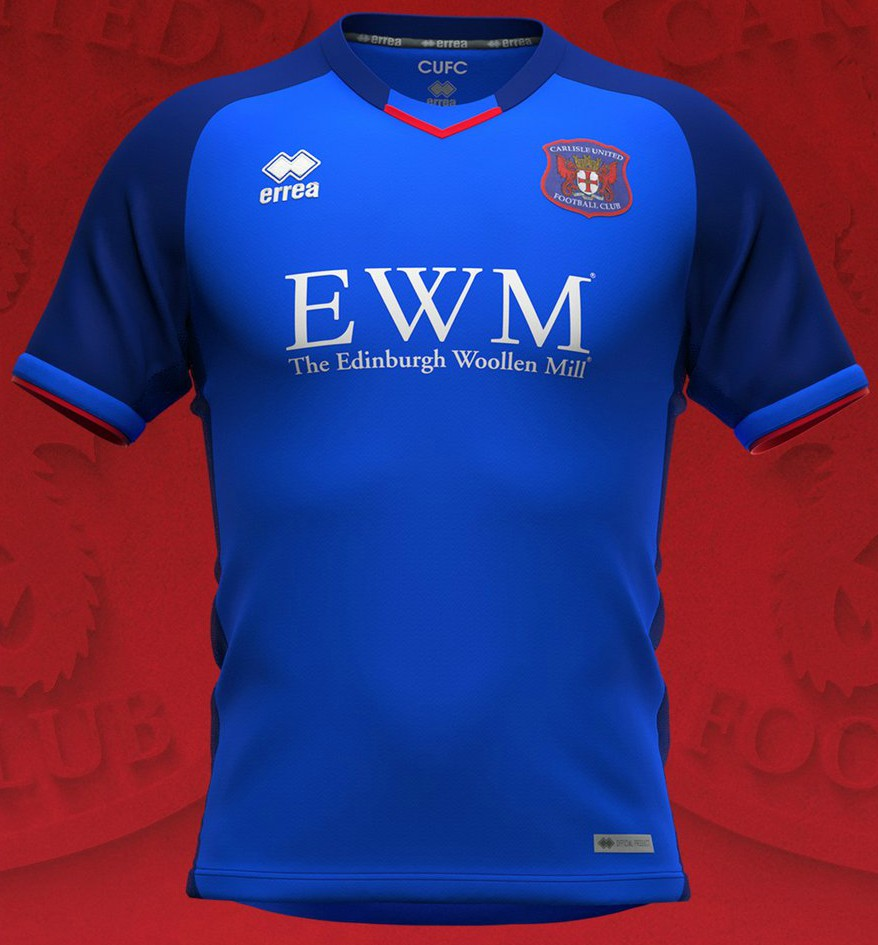 New Carlisle United Home Shirt 2020-21