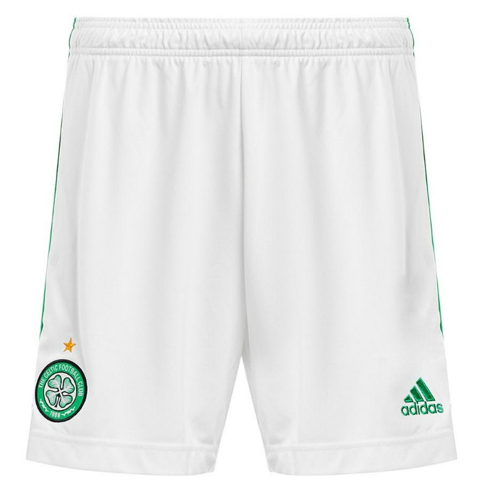 New Celtic FC Home Shorts 2020-2021