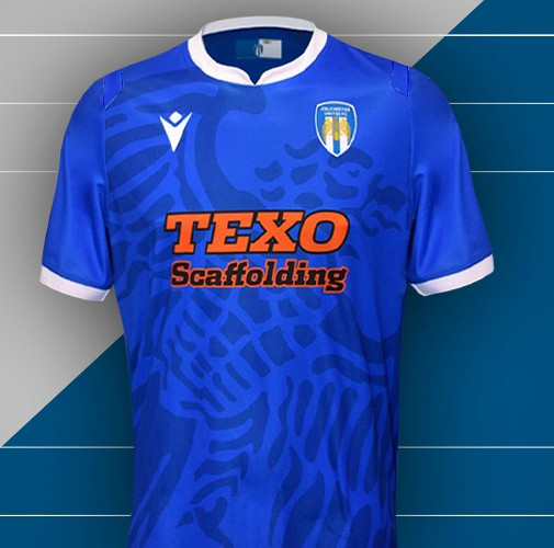 New Colchester United Shirt 2020 2021 No Stripes