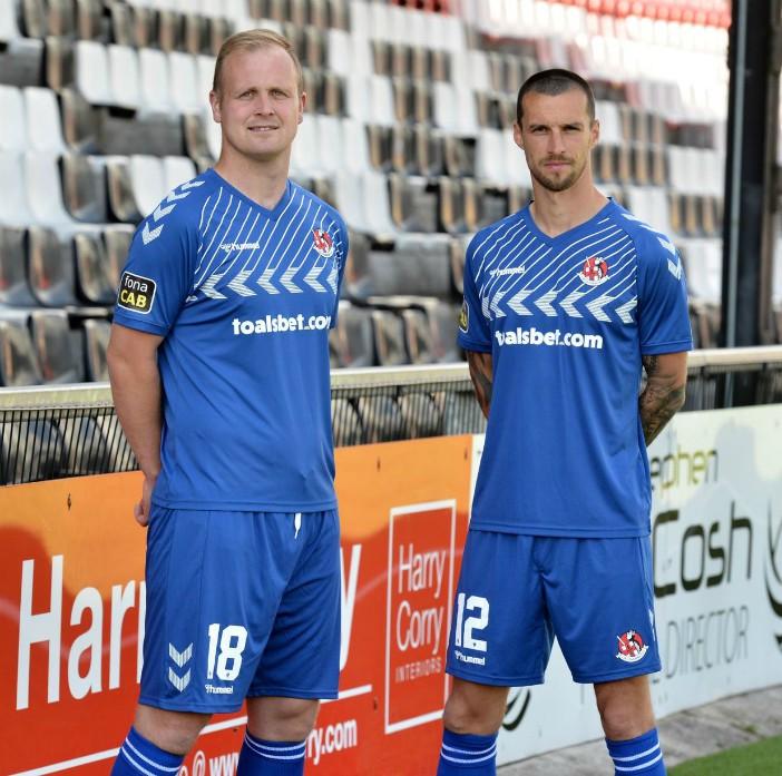 New Crusaders FC Away Shirt 2020 21