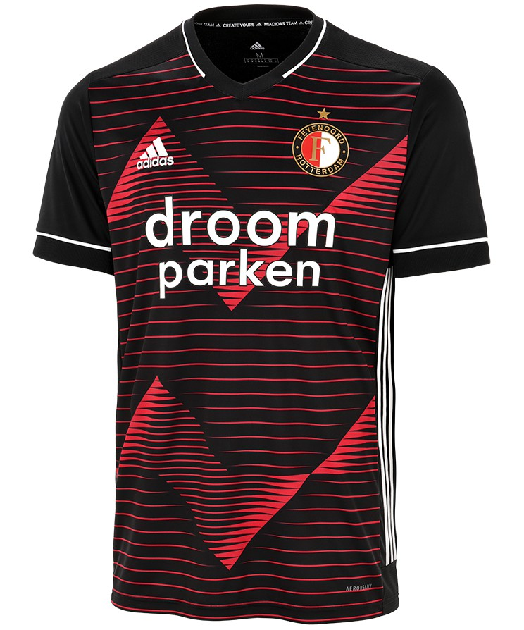 New Feyenoord Red Black Jersey 2020 2021