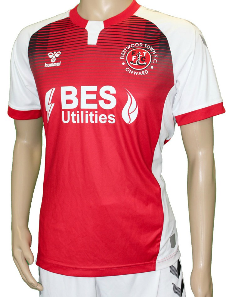 New Fleetwood Town Home Shirt 2020-21 Hummel