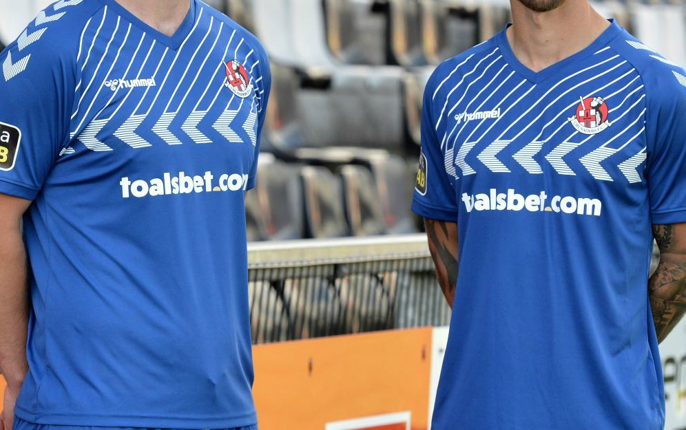 New Hummel Crusaders FC Blue Jersey 20-21