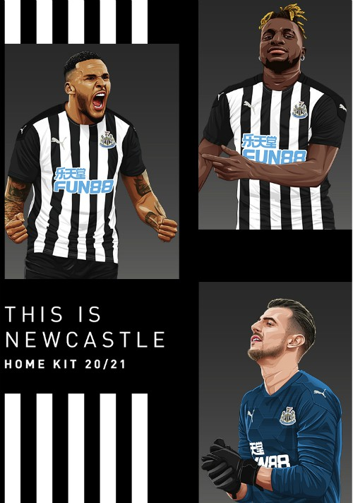 New NUFC Strip 2020-21