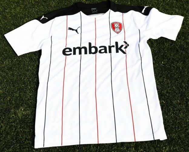New RUFC Away Kit 2020-21 Alternate Pinstripes
