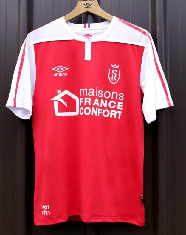 New Reims Jersey 2020 2021