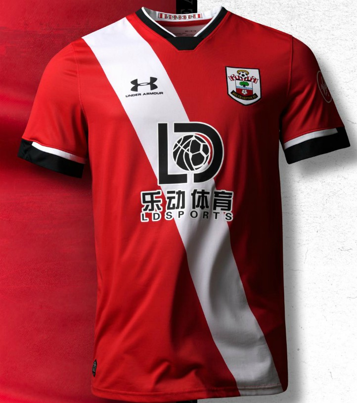 New Southampton Home Jersey 2020 2021