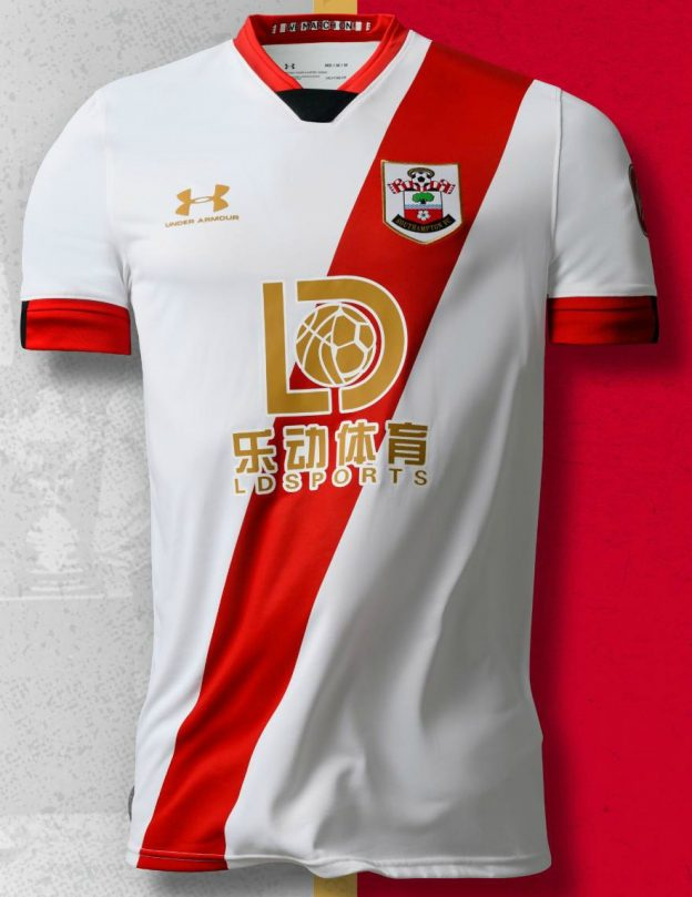 New Southampton Third Shirt 2020-21 White