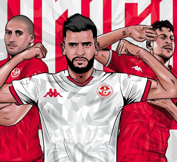New Tunisia Kit 2020-21 Kappa