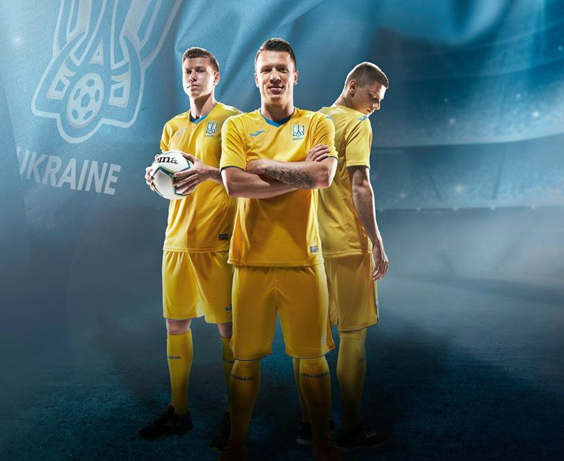 New Ukraine Home Jersey 2020 Joma