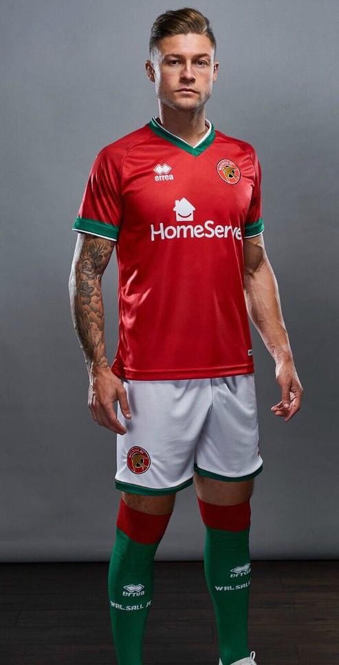 New Walsall FC Home Shirt 2020 21