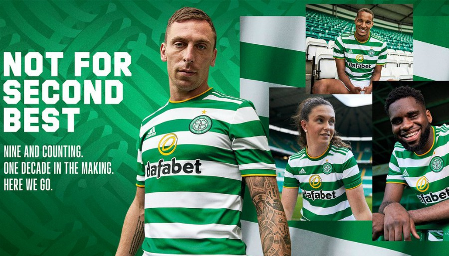 Not for Second Best Celtic Kit 20-21