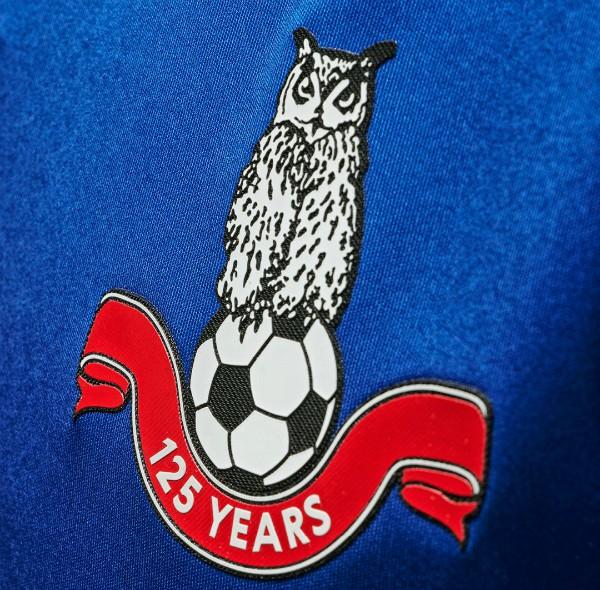 Oldham 125th Anniversary Shirt Badge 20-21