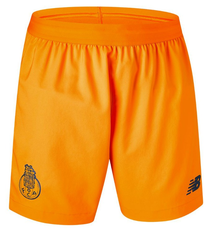 Orange Porto Away Shorts 20-21