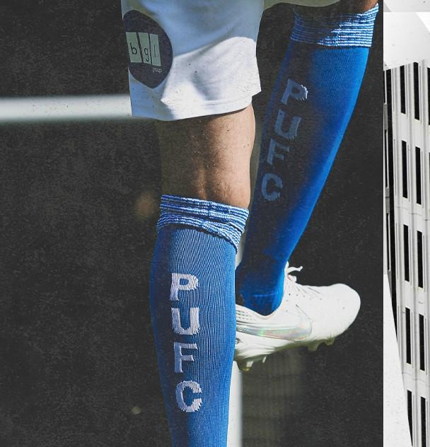 PUFC on Posh Home Socks 20-21