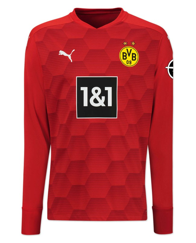 Red Dortmund Goalkeeper Shirt 2020-21