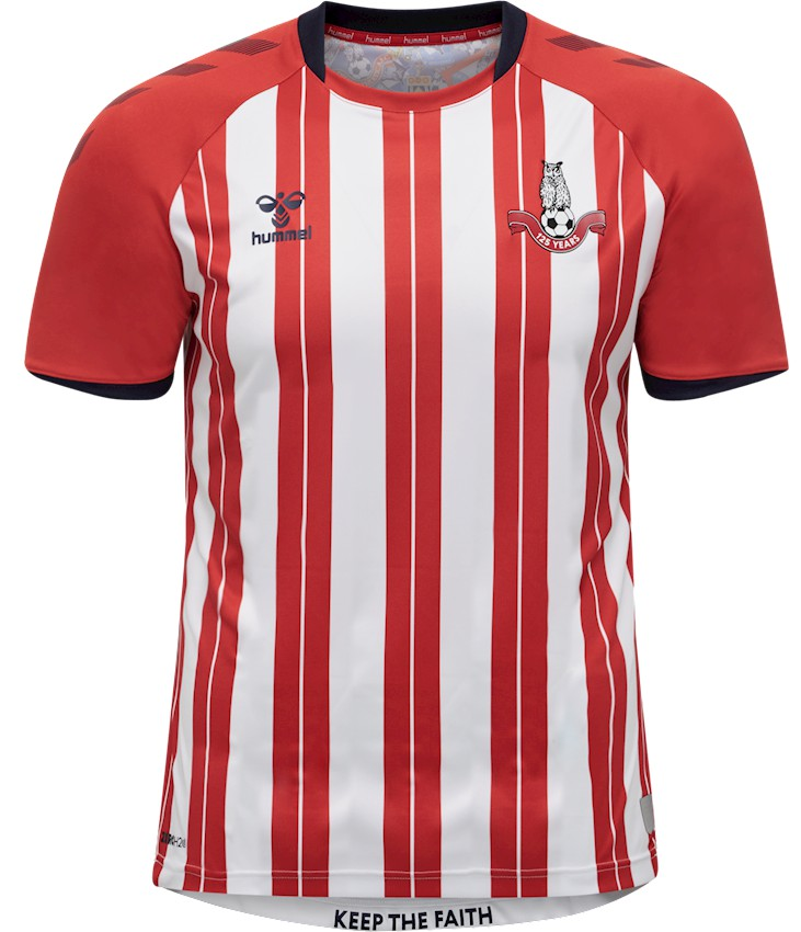 Red Oldham Away Shirt 2020-21