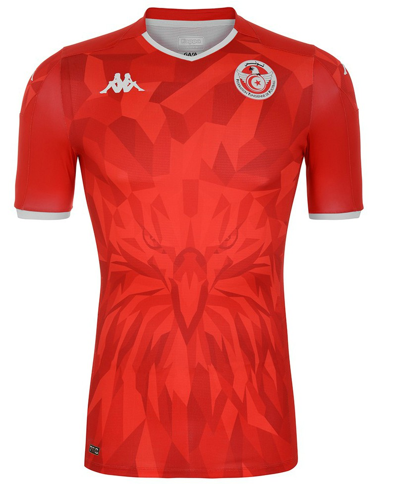 Red Tunisia Away Shirt 2020 2021 Kappa